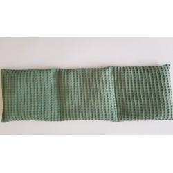 Baby zakje: Wafel oud groen