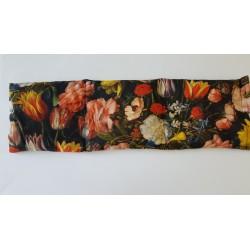 Motief: Zwart met bloemen